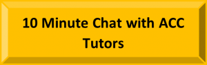 Button to start a quick chat with ACC tutors.
